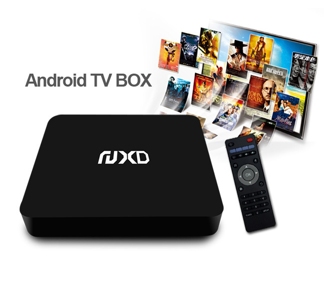 Quad Core Android 5.1 TV Box Supports Internal SATA HDD