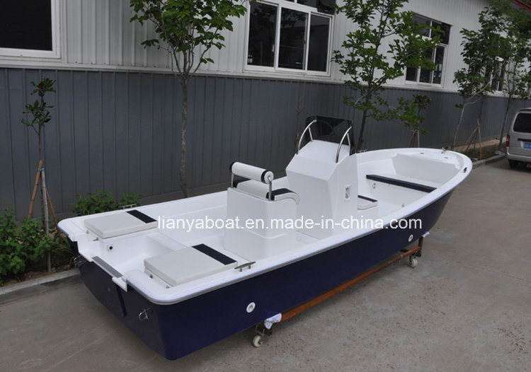Liya 14-25 Feet Fiberglass Fishing Boats Panga Boat for Sale