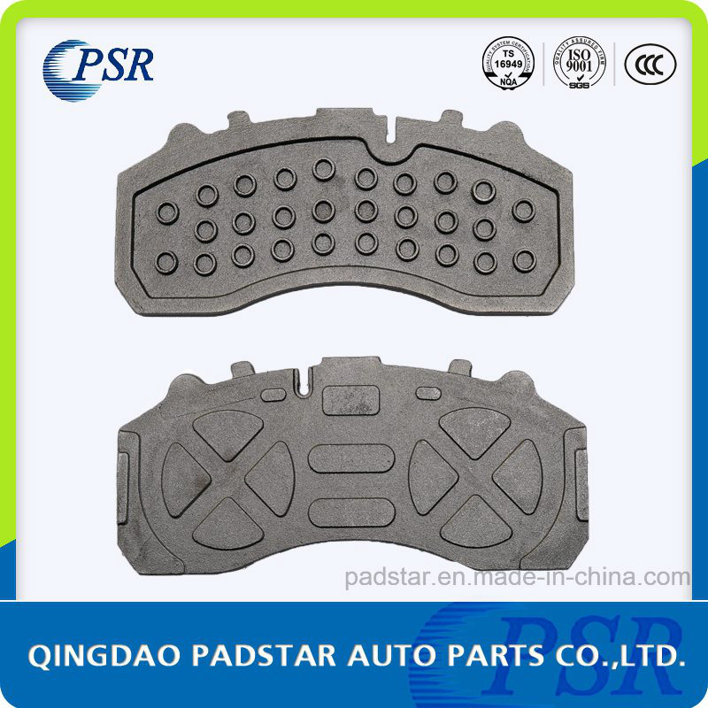 Auto Parts Brake Pad Cast Iron Backing Plate for Actors Truck Brake System China Supplier