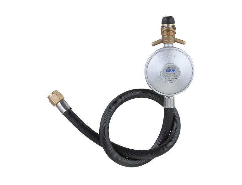 Aga Gas Regulator with Hose for Austrial (AGA)
