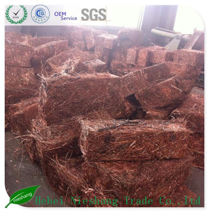 Copper Wire Craps 99.99% Copper Cathodes