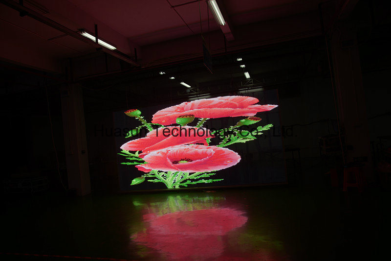 Glass LED Wall Transparent LED Screen Trans-Eys LED Display High Brightness P3 P6