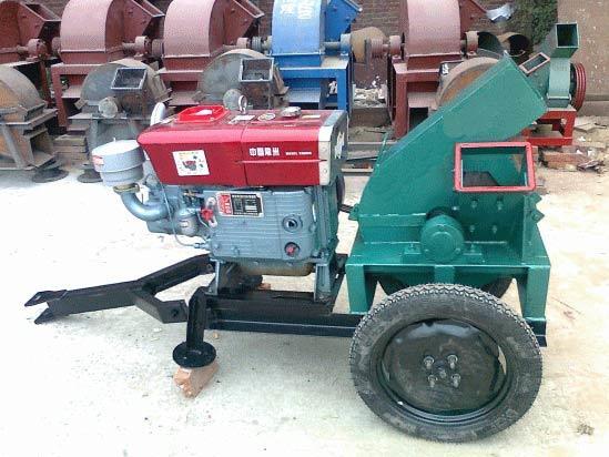 Large Capacity Efficiency Industrial Wood Chipper