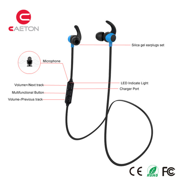 Wireless Bluetooth Sports Earbuds with Microphone