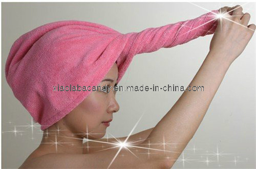 Microfiber Hair Turban, Hair Head Wrap Towels