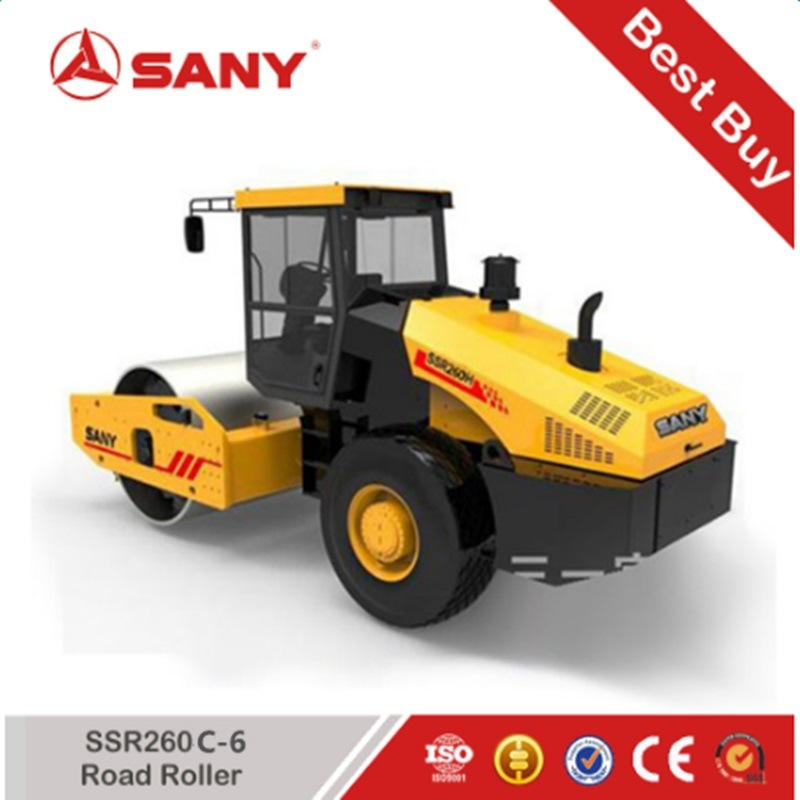 Sany SSR260c-6 SSR Series Vibratory Road Roller 26 Ton Weight Single Drum Roller Prices
