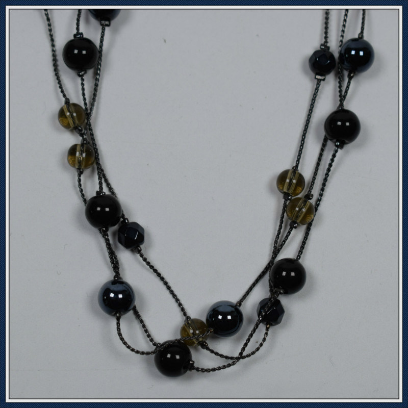 New Item Design Glass Beads Elegant Fashion Necklace Jewellery