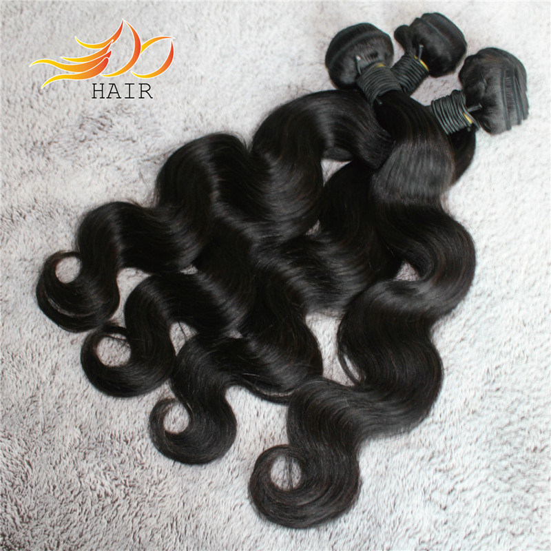 100% Brazilian Hair Weave Body Wave Remy Human Hair Extension