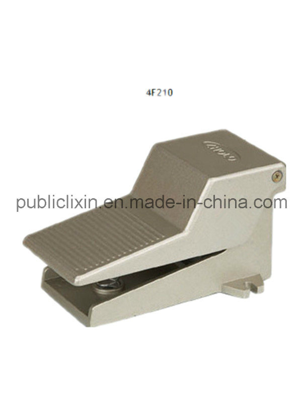 Airtac 4f Series Pneumatic Foot Valve with Lock and Cover