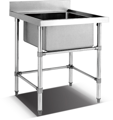 Stainless Steel Assembling Sink Table (HSS-66)