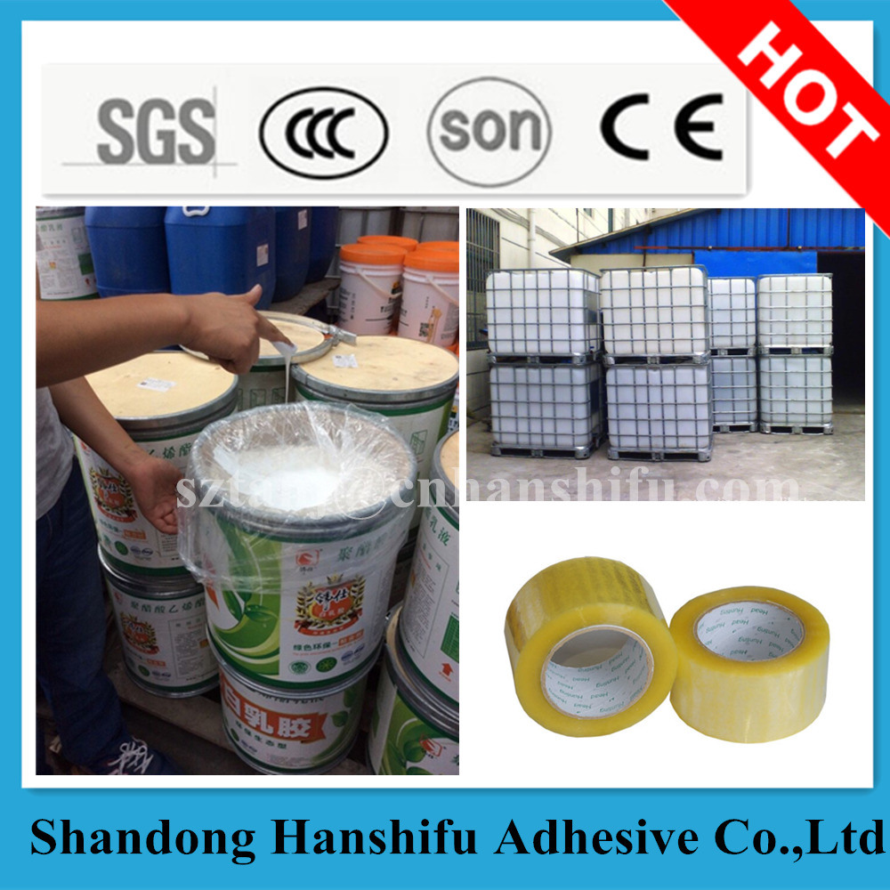 China Hot Sale Water Base Acrylic Pressure Sensitive Adhesive Glue