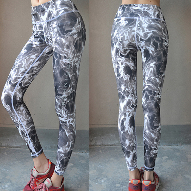 Women′s Yoga Running Sports Athletic Gym Compression Fitness Wear