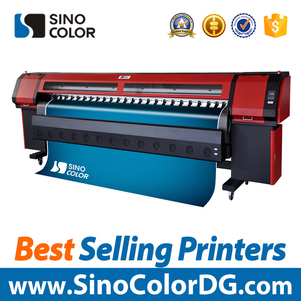 China KmI Vinyl Sticker Solvent Inkjet Printing Machine With - Vinyl decal printing machine