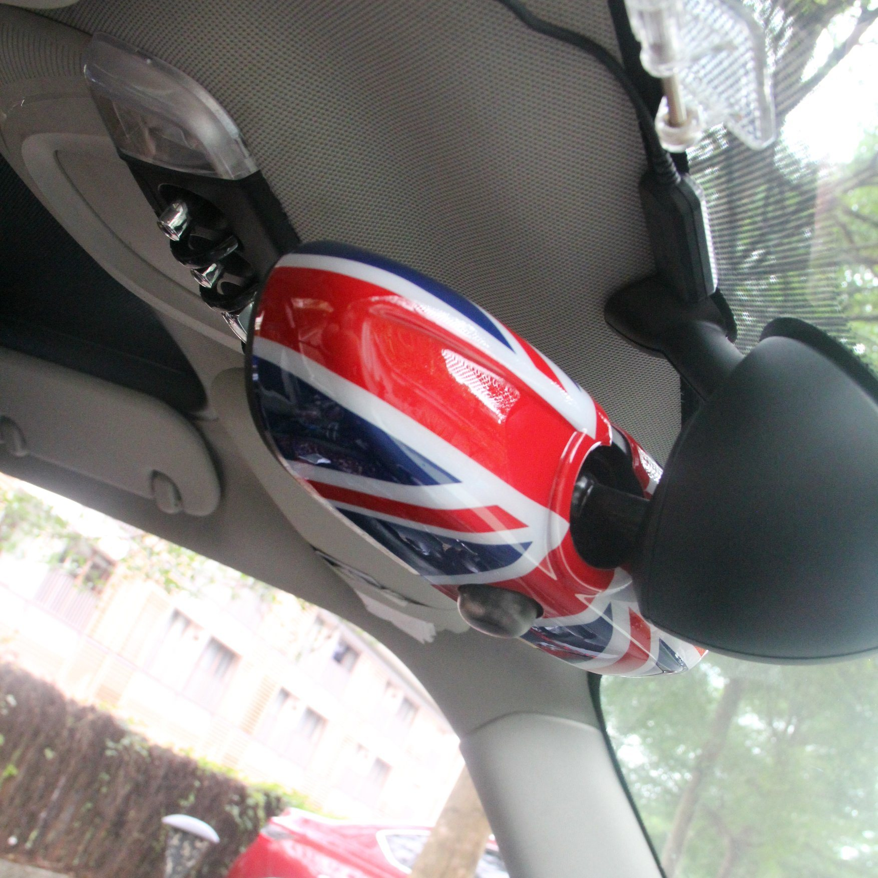 Interior Mirror Cover Union Jack Style for Mini Cooper F56