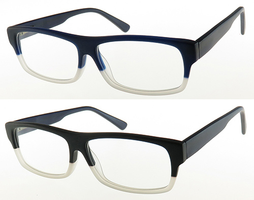 Rectangle Style of High Quality Acetate Optical Frame