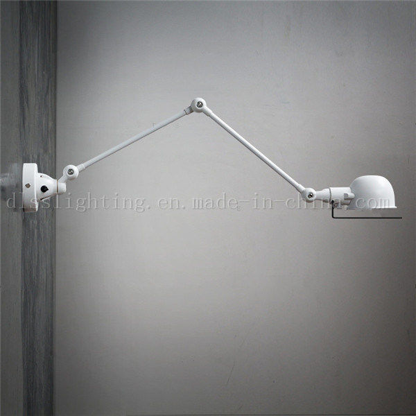 Simple Style Metal Folded Bedroom Wall Lamp for Room Lighting