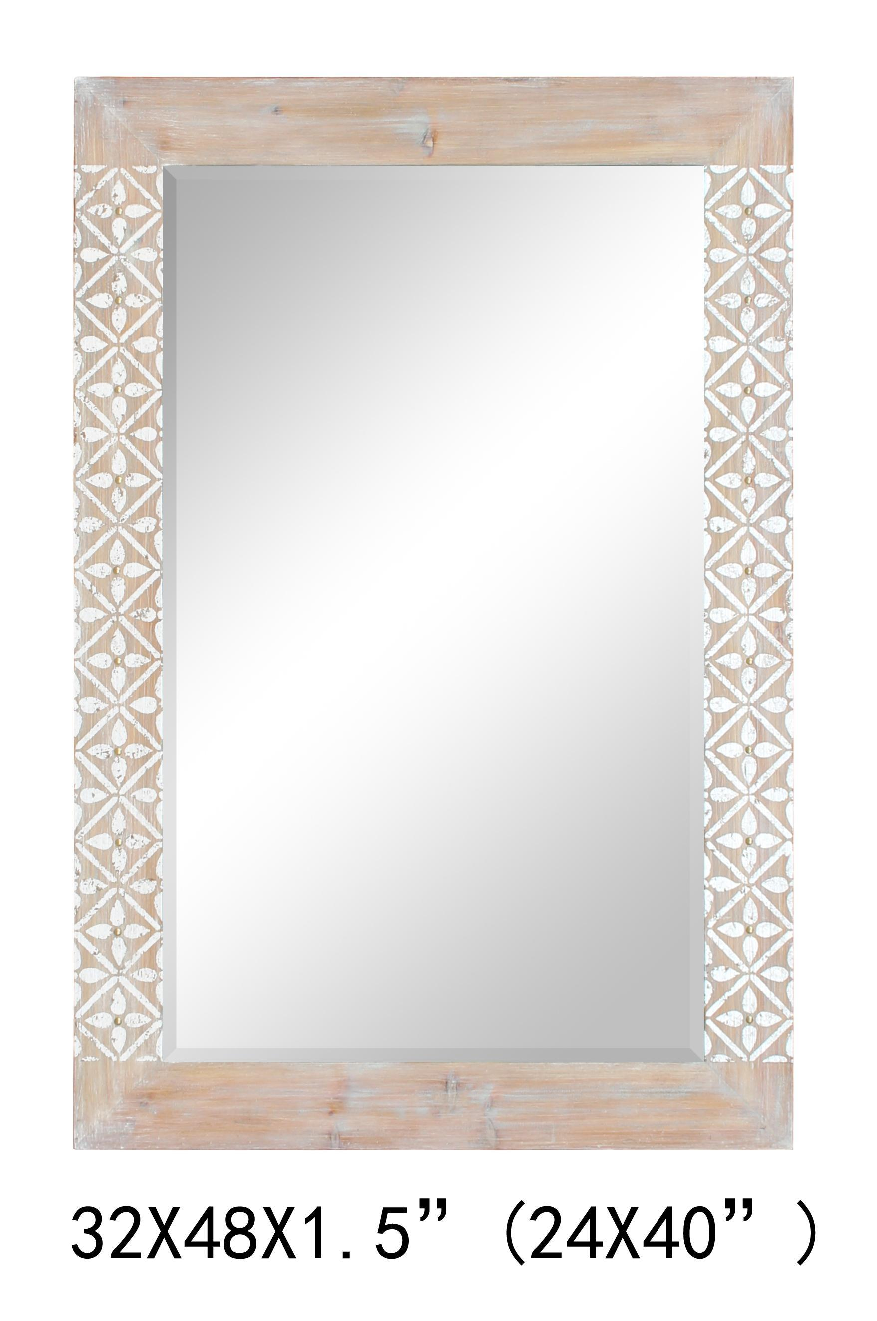 Decorative Silver Mirror for Wall Art Home Decoration