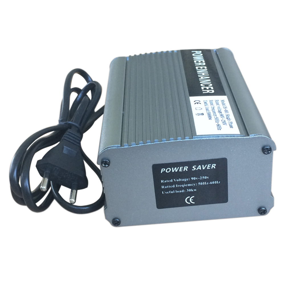 Single Phase Power Saver for Home Shop Aluminium Housing (JS-001)