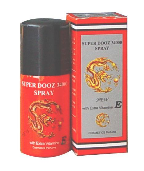 Super Dooz 34000 Delay Sexual Spray Dragon′s Sex Product
