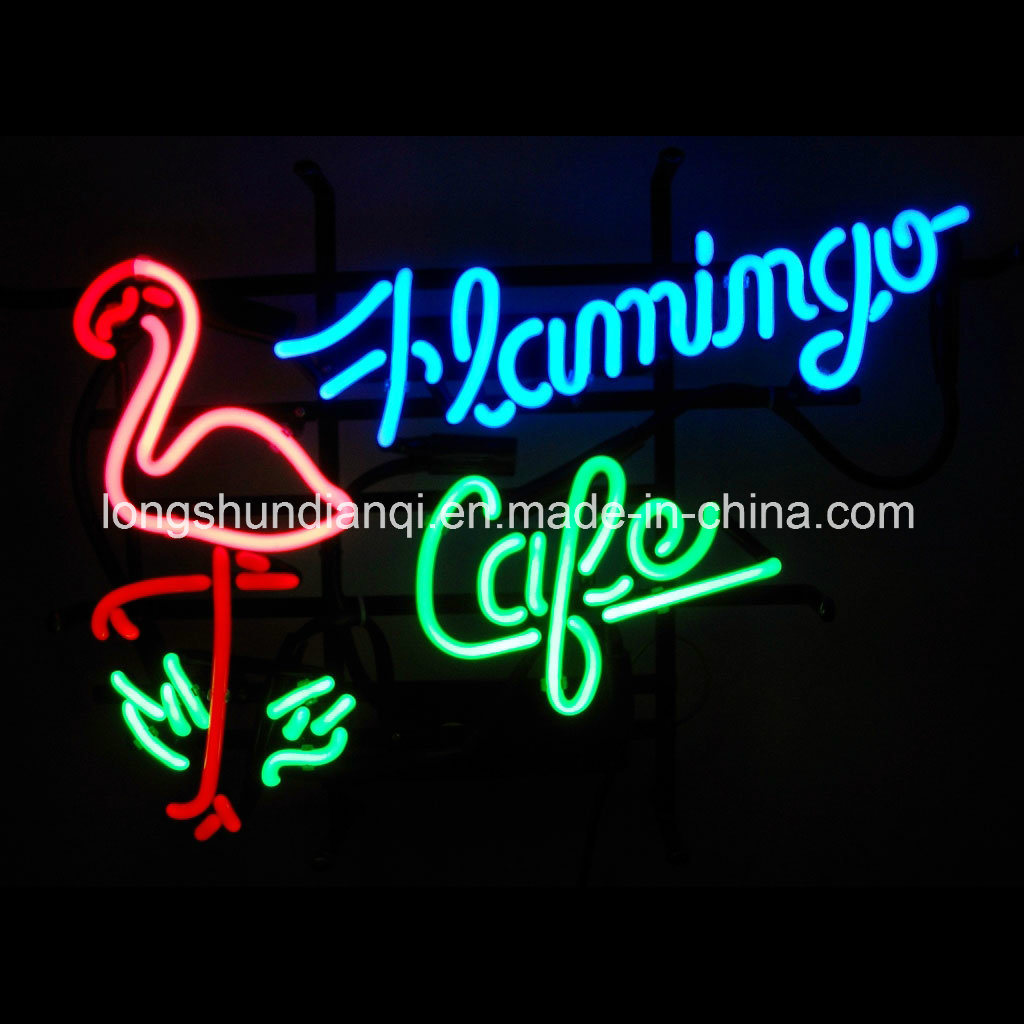 11-15W IP65 IP68 Customized LED Flamingo Neon Sign for Outdoor Decoration