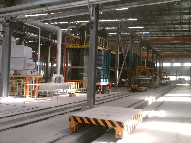 V Process Molding System and Sand Reclamation Line