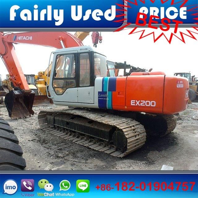 Second Hand Hitachi Crawler Excavator Ex200-2 of Hitachi Ex200-2 Excavator