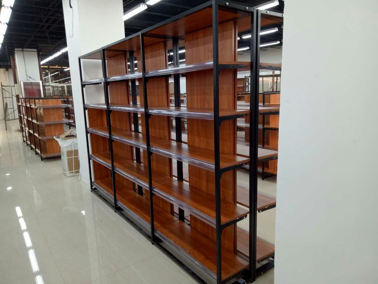 ISO Certificated Hebei Woke Supermaket Shelving Bontique Shelving