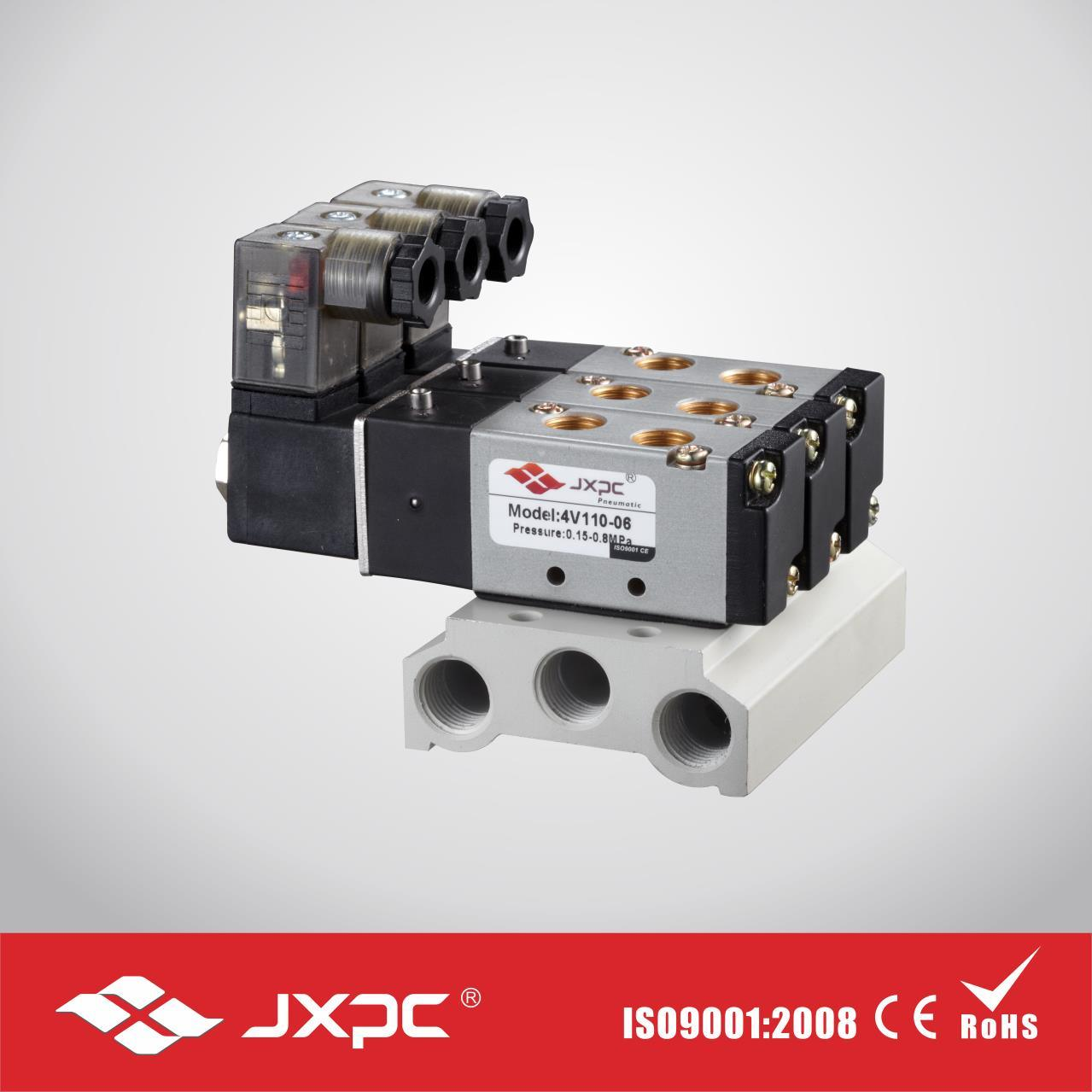 Plate Connection Type Solenoid Valve