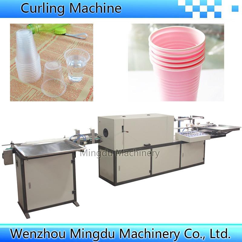 Automatic Plastic Cup Lip Rolling Machine
