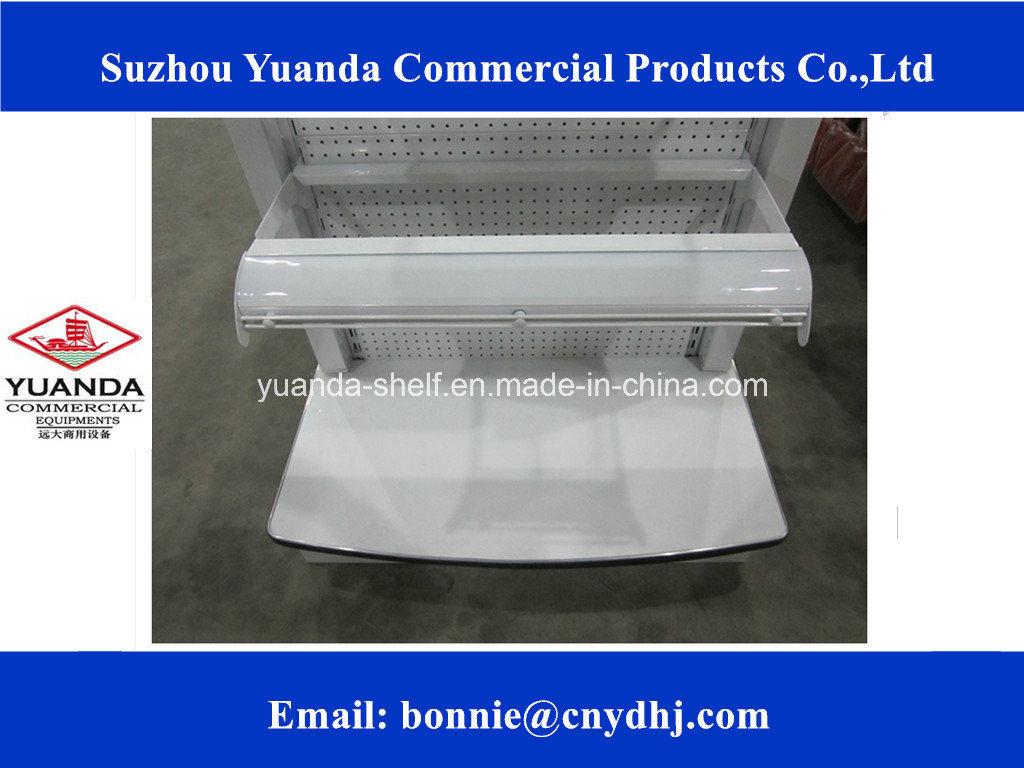 Flat Panel Supermarket Display Rack/Shelf/Gondola Supplier
