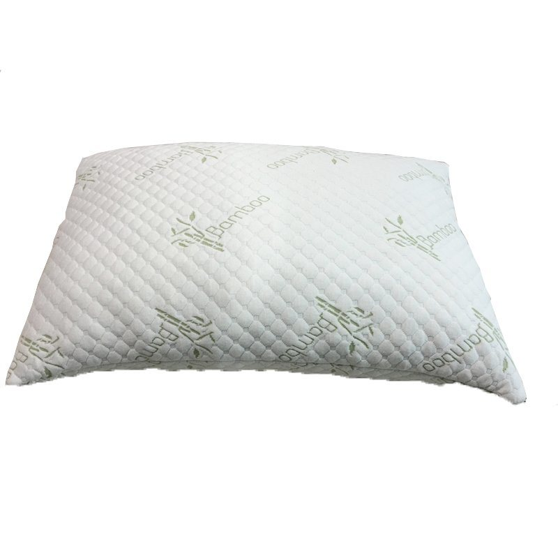 Bamboo Fabric Shredded Memory Foam Pillow