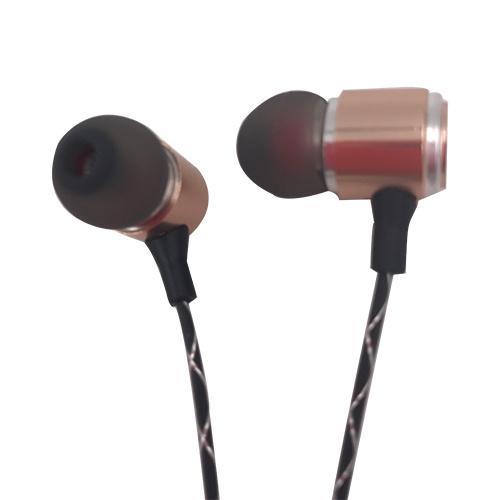 Gold High-End Earphone Headset