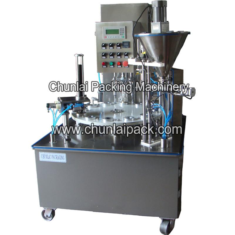 Nespresso Compatible Capsule Filling Sealing Machine