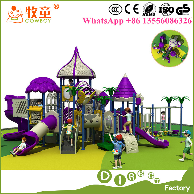 Kid Playground Equipment Public Place Outdoor Playground Equipment for Saling