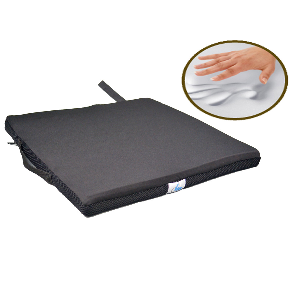 Memory Foam Gel Wheelchair Cushion for Medical Use