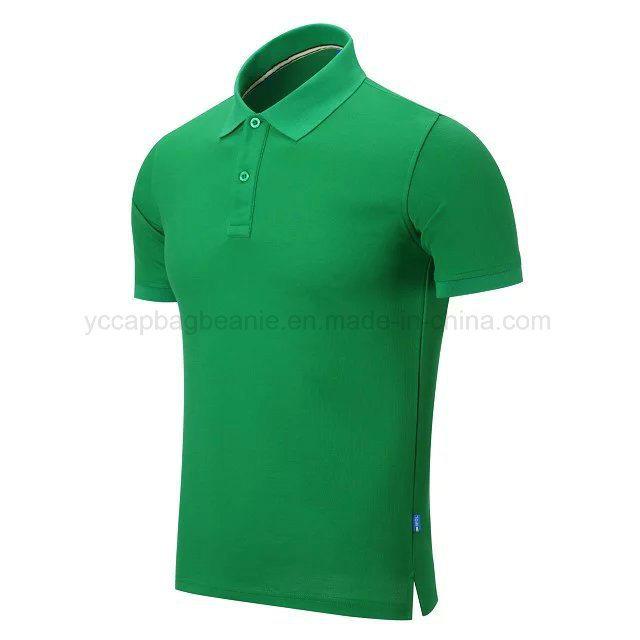 100%Cotton High Quality Men′s Polo Shirt