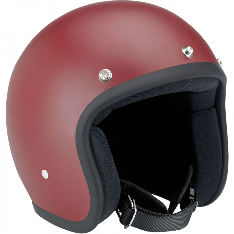 Motorcycle Open Face Helmet DOT, Ce Approved, ABS Shell, Vintage