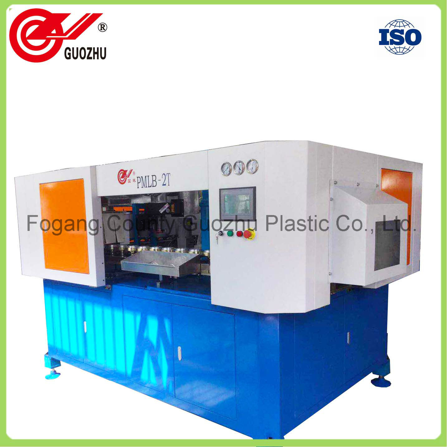2 Cavity Linear Blowing Plastic Machinery for Jar