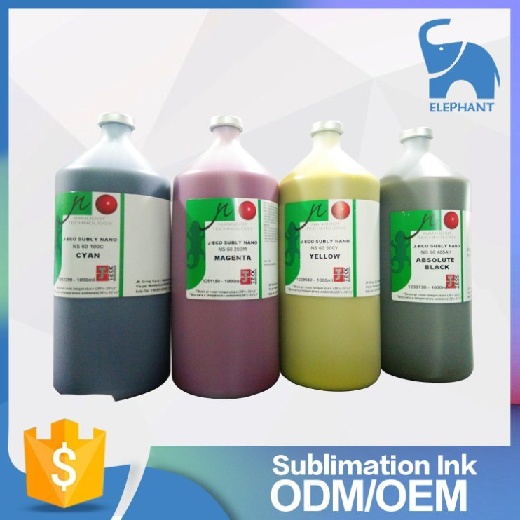Italy J-Teck Dye Sublimation Ink for Dx4/5
