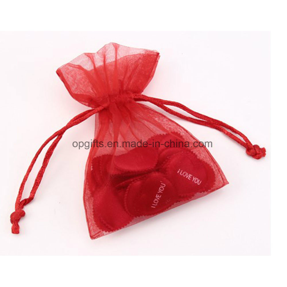 Hot Sale Promotional Drawstring Nylon Satin Non-Woven Organza Bag