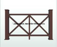 Eco-Friendly WPC Fence and Railing for Garden K-Nrl- 04
