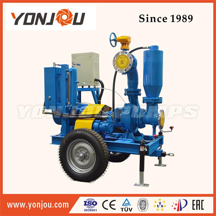 Dewatering Pump, Vacuum Assist Dry Run Self Priming Pump