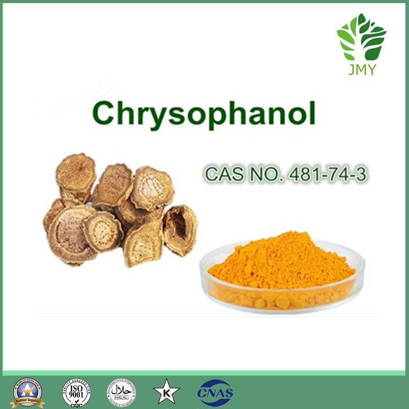 100% Plant Extract 10%-98% Rhubarb Extract Powder Physcion