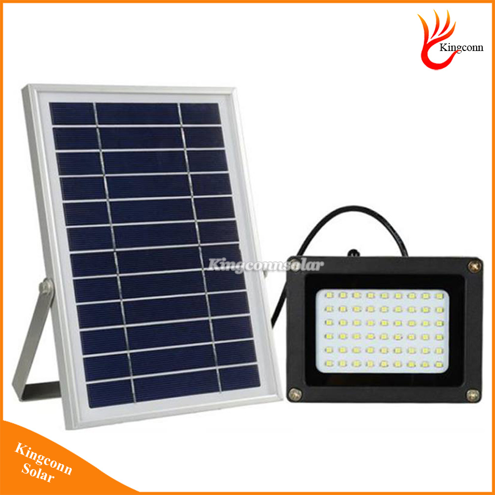 450 Lumen 54 LED Solar Powered Flood Light Outdoor Solar Garden Light