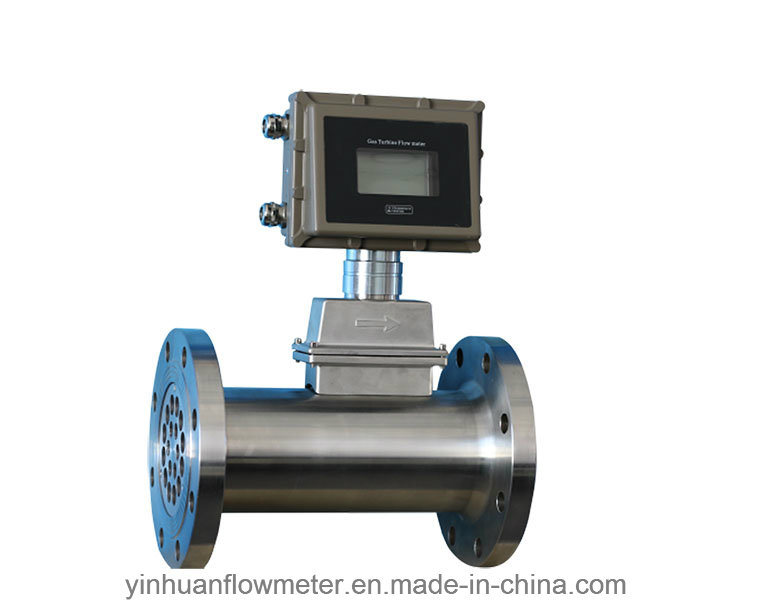 Flange Type Gas Turbine Flowmeter