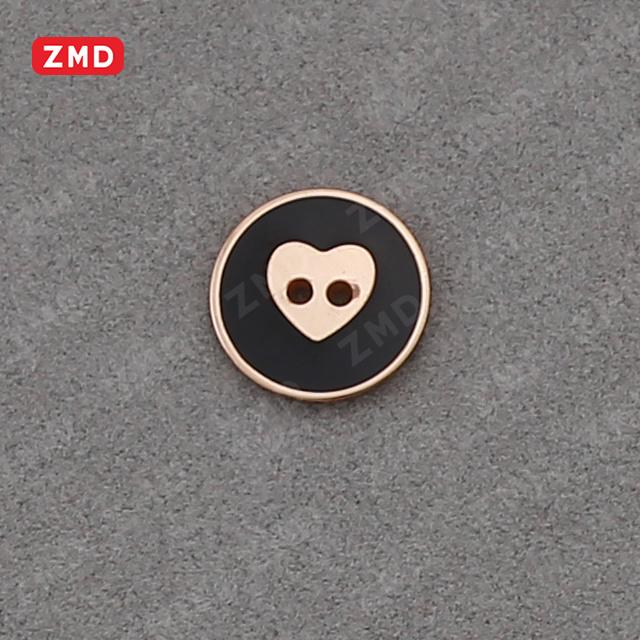 Sew Button Alloy Button Garment Accessories
