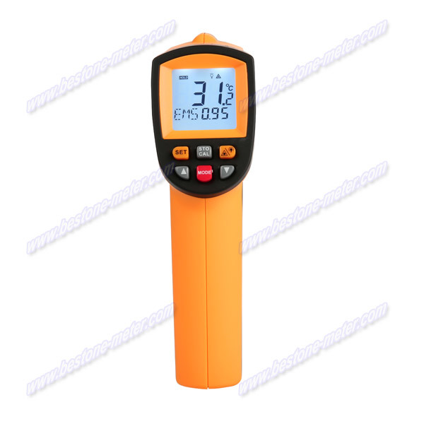 Digital Non-Contact High Temperature Infrared Thermometer (BE900)