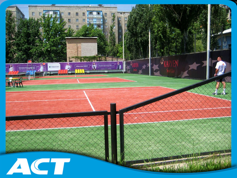 High Quality Durable Good Performance Artificial Tennis Grass Tennis Field Sf13