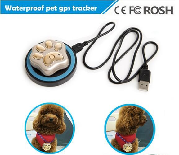 GPS Tracker Pet RF-V32 GSM Tracker WiFi Positioning Waterproof IP66 Support Wireless Charging Rolling No Box