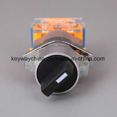 Dia22mm-La118ax Position Push Button Switch, Black, Red, Green Colors, 6V-380V Voltage